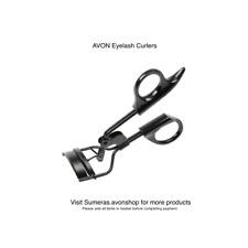 Avon Eye Lash Eyelash Curler Black Anodised ~ New with Instructions ~ Free P&P