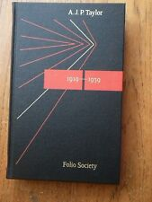 The Origins of the Second World War - A.J.P. Taylor *Folio Society hardback*