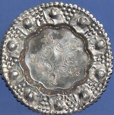 Vintage Decorative Ornate Floral Tin Plate