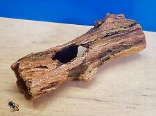 Aquarium Ornament Log Tree Bark Cave Hide Decoration Fish Tank
