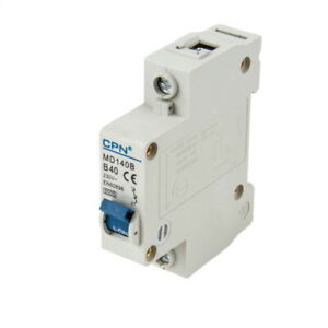 Cudis CPN MD140B 40 Amp Type B Single Pole 230V 6kA B40 Circuit Breaker MCB