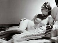 """Photographie,  """"Odalisque"""",  1943   /   Hommage à Horst P. Horst   /   15 x 19,8"""