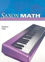 Saxon Math, Intermediate 4 (Student Edition) Hake, Stephen Hardcover Used - Goo