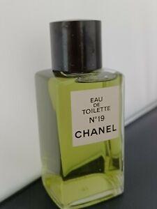 Chanel No. 19 Eau de toilette KEIN SPRAY 80/90er Jahre, voll