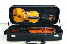 Strong&Sturdy 4/4 Full Size Wooden Double Violin Case Black Color 2.950kg