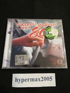 ARTISTI VARI - SUCCESSI ITALIANI ANNI 80 - CD NUOVO SIGILLATO