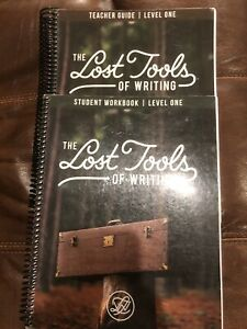 Lost Tools Of Writing Level 1 Teacher Guide And Student Workbook
