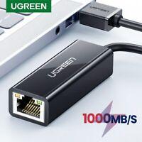 UGREEN USB Ethernet Adapter USB 3.0 to RJ45 Gigabit Network Lan Adapter for PC