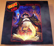 "Ceaco ""Dragon Spell"" Glow in the Dark Jigsaw Puzzle - 550 Pieces - Sealed - New"