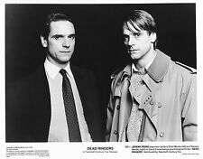 Jeremy Irons David Cronenberg Faux-semblants Dead Ringers Original Vintage 1988