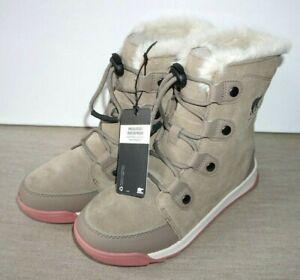 New with box SOREL Whitney Waterproof Snow Boots. Size UK3 EUR 35 Khaki