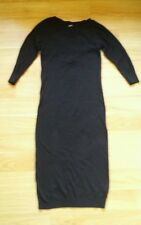 ASOS-Black-Knitted-Dress  size10