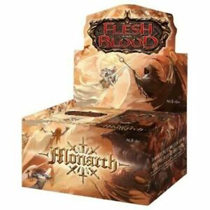 Monarch 1st Edition Booster Box - Flesh And Blood TCG - Brand New!