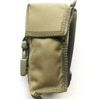 TACTICAL FORCE KHAKI GRENADE POUCH FLASH BANG MOLLE 900D X2 WATERPROOFING