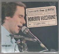 ROBERTO VECCHIONI LIVE RTSI CD DIGIPACK F.C.SIGILLATO!!!