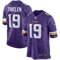 Adam Thielen Minnesota Vikings Men's Nike Game Jersey Size 2XL - New
