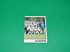 PANINI FOOTBALL FOOT 90 N°9 TEAM PART 2 AJ AUXERRE AJA ABBE-DESCHAMPS 1989-1990