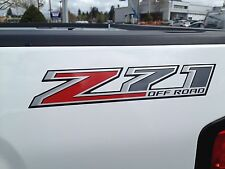 "NEW GENUINE GM ""Z71 OFF ROAD"" BED SIDE DECAL 2014-2015 SILVERADO GM# 22774901"