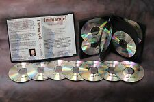 "New Testament Audio Book CD Set ""Immanuel God with us"" Bible Gospels Harmony"