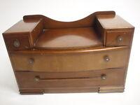Vintage  Oak Art Deco  Dressing Table Retro 20th Century Furniture