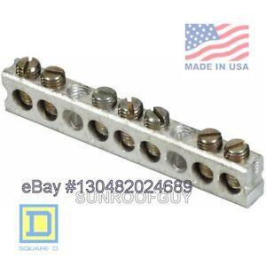 Square D QO/HomeLine Grounding Bar Kit (PK7GTA) - NEW