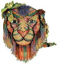 Mary Frances On the Prowl Lion Tiger King Summer 2014 Bag New Handbag Purse