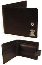 Jack Daniels: Mr Jack Leather Bi Fold Wallet With Coin Pocket - New & Official