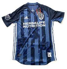 Adidas LA Galaxy Beckham Away Authentic MLS Soccer Jersey Mens Size Medium New