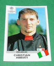 N°291 ABBIATI MILAN AC ITALIA PANINI FOOTBALL CHAMPIONS LEAGUE 1999-2000