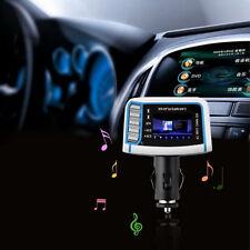 Wireless FM Transmitter Auto Car MP3 Player SD TF Card USB Drive Remote LCD