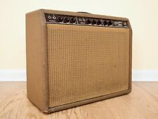 1962 Fender Vibrolux Vintage Tube Amp Brownface Pre-CBS 1x12 Combo, 6G11 Circuit