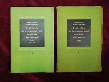 EVOLUCION PROPIEDAD RURAL VALLE DEL PUANGUE by BORDE/MARIO GONGORA/CHILE/1936