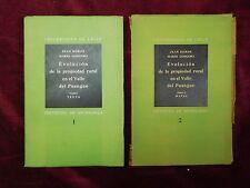 EVOLUCION PROPIEDAD RURAL VALLE DEL PUANGUE by BORDE/MARIO GONGORA/CHILE/1936