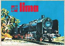 Lima trains retailers shop window sticker from the 1980's 21cm x 15cm