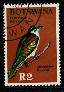 BOTSWANA SG233 1967 2r BIRD FINE USED