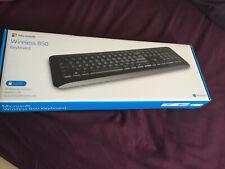 Microsoft 850 Wireless Desktop Keyboard Without A Mouse (Black)