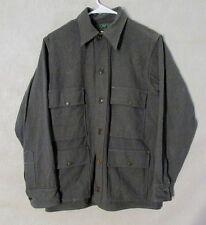 Z8623 Men's Vintage 1940's Black Bear Sportswear Sage Green Button Up Jacket