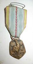 Médaille, décoration: Médaille commémorative dela guerre 1938-45 avec son ruban