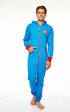 DC Comics Superman One Piece Bodysuit Jumpsuit Costume (Adult)