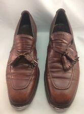 Johnston & Murphy Aristrocraft Brown leather Staccato Tap Shoes Men's 7 1/2 C/A