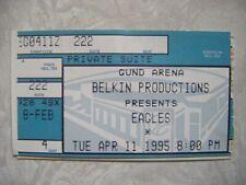 1995 The Eagles Concert Gund Arena Suite Ticket Stub Belkin Productions