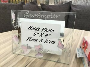 Personalised/None personalised Granddaughter Picture Photo Frames Land
