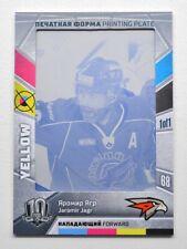 2018 Sereal KHL Exclusive Collection Printing Plate #Y144 JAROMIR JAGR 1/1