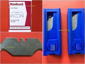Roebuck 1437095, 2 x Packs Of 10 Hook Blades, 20 In Total, Sheffield England