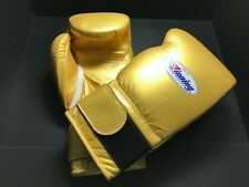 Authentic Winning Boxing gloves Professional Tape type 16oz Gold from JAPAN NEW