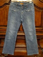 Lee Women's Jeans One True Fit Size 5/6 Low Rise Boot Cut Really cute!
