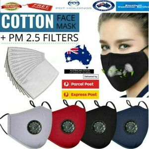 Washable Winter Face Mask Anti Pollution Masks Reusable Respirator PM 2.5 Filter