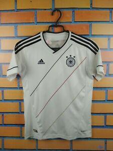 Germany Jersey 2012 2014 Home Youth 11-12 Shirt Football Adidas Trikot Maglia