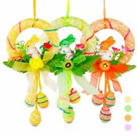 Easter Egg Rabbit Foam Hanging Decoration For Baskets Party Decor Bunny Ornament
