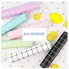 BACKDROP Plaid Paper Cardboard Double Sided